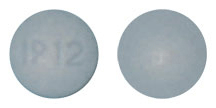Image of blue pill imprinted IP 12