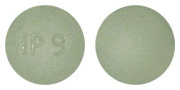 Image of green pill imprinted IP 9