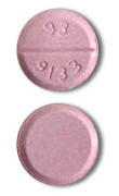 Image of pink pill imprinted 93 9133