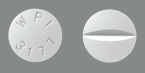 Image of white pill imprinted WPI 3177