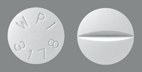 Image of white pill imprinted WPI 3178