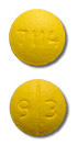 Image of yellow pill imprinted 93 / 7114