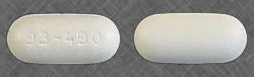 Image of white pill imprinted 93-490