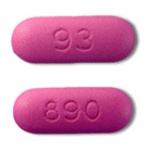 Image of pink pill imprinted 93 / 890