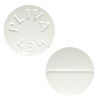 Image of white pill imprinted PLIVA 434