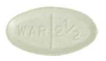 Image of green pill imprinted WAR 2 1/2