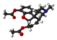 Picture of Heroin molecule