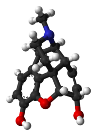 Picture of Morphine molecule