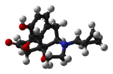 Picture of Naltrexone molecule